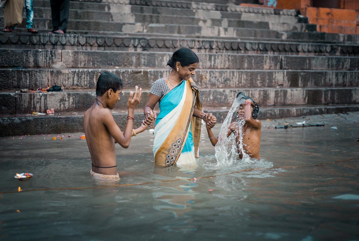 Varanasi - Gange river