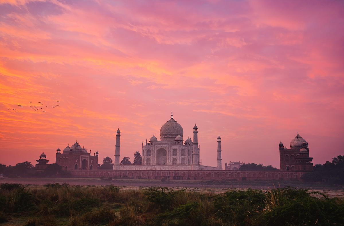 Sunrise - Taj Mahal - Agra