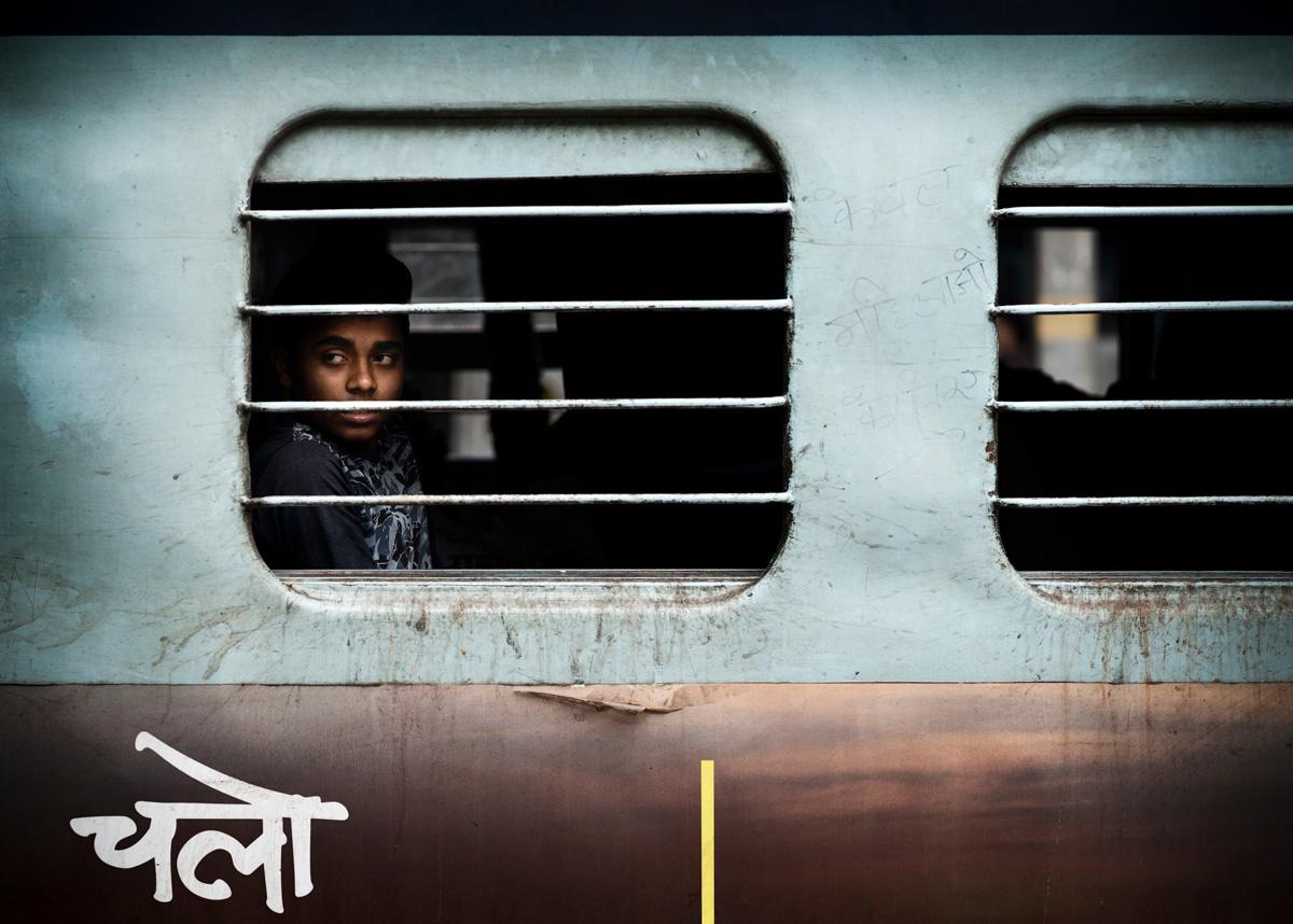 Agra train station - India