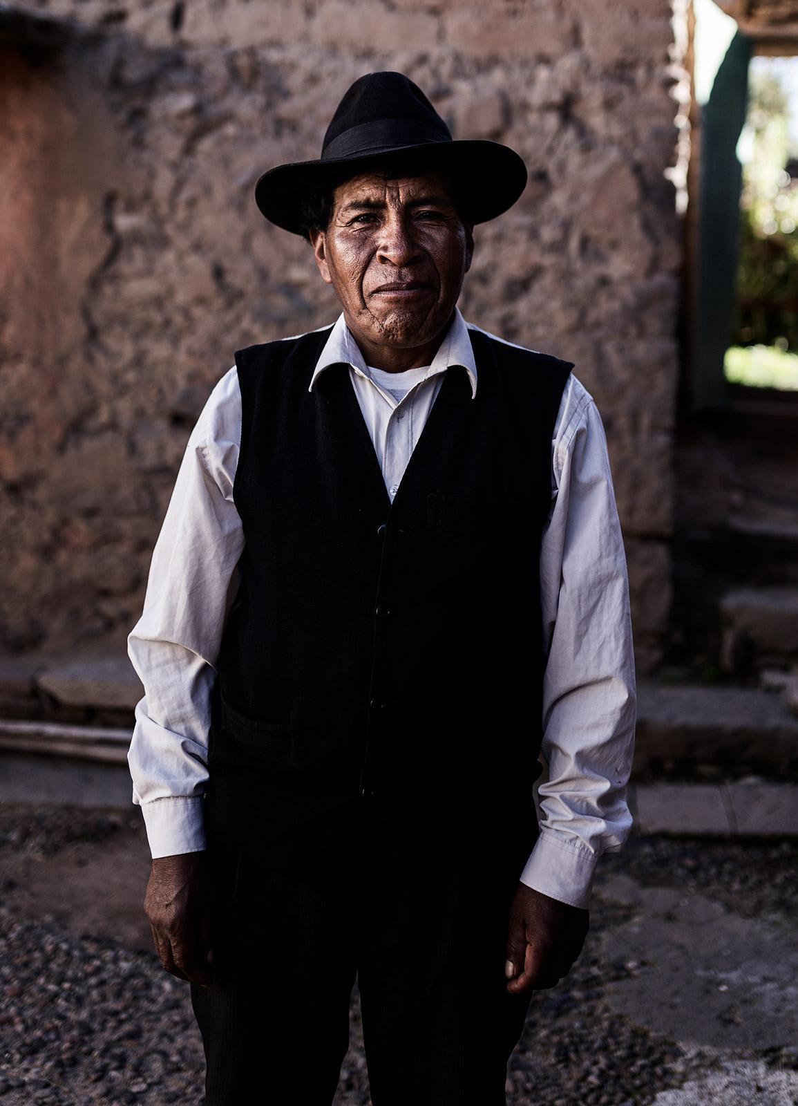 Valentin - Isla Amantani - Titicaca