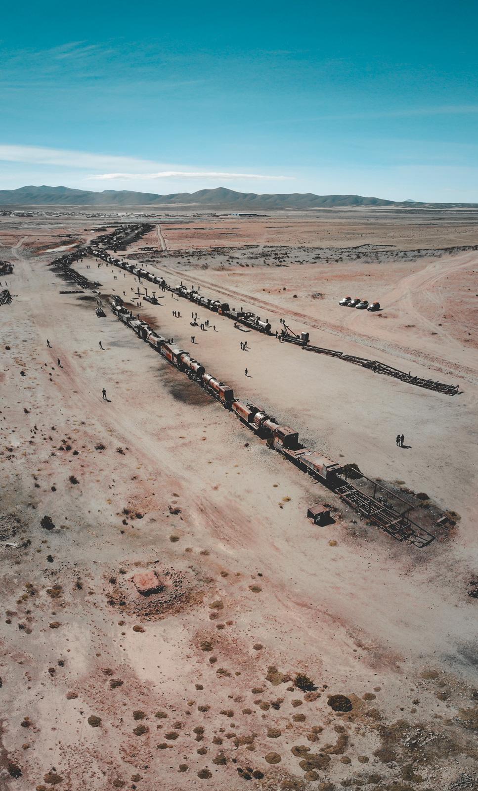 El Cementerio de Trenes - Uyuni